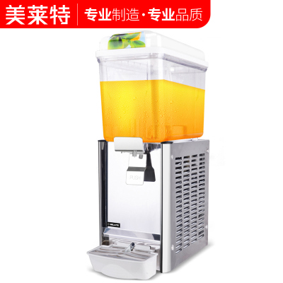 美莱特 商用饮料机 冷饮机制冷现调果汁机12L单缸冷饮机搅拌喷淋