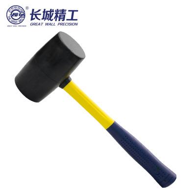 長城精工 纖維柄橡膠安裝錘 手錘 榔頭 錘子 1LB 256023