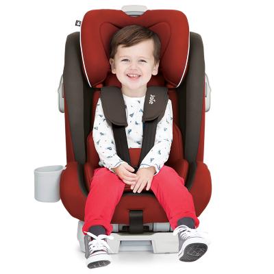 英國Joie巧兒宜汽車兒童安全座椅ISOFIX/LATCH雙接口 9個月-12歲蓋世戰神C1504 中國紅