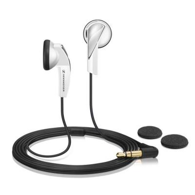 【性价比有线耳机】森海塞尔(Sennheiser) MX365 白色 立体声有线耳机 强劲低音 驱动立体声 入耳式耳机