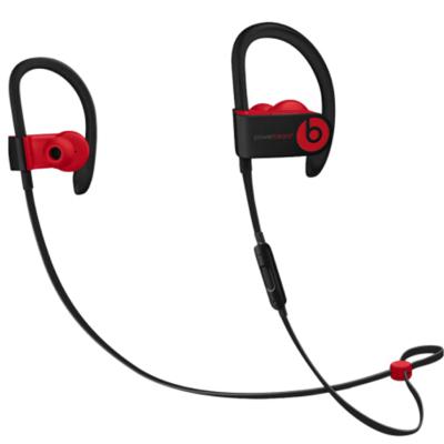 【二手95新】beats Powerbeats3 魔音 PB3 蓝牙无线运动耳挂式耳机耳麦3代 桀骜黑红(十周年纪念款)