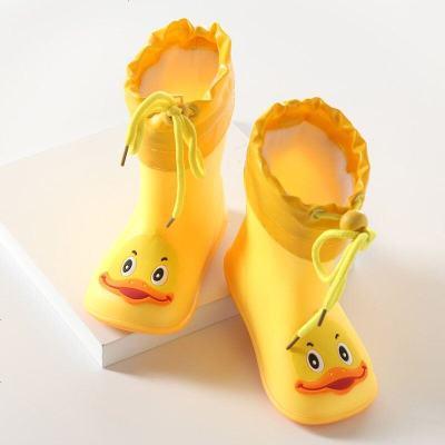 儿童雨鞋幼儿男女雨鞋宝宝雨靴胶鞋四季款