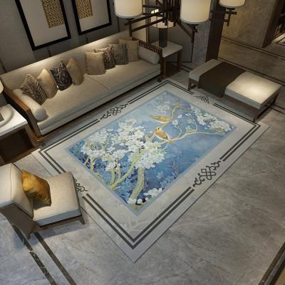 原色馨居 現代簡約客廳地毯新中式沙發茶幾墊臥室床邊長方形房間家用可定制地墊