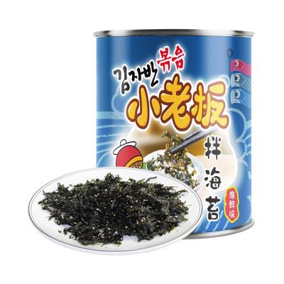 小老板海苔海鲜味拌饭海苔50g拌包饭海苔寿司即食海苔儿童辅食