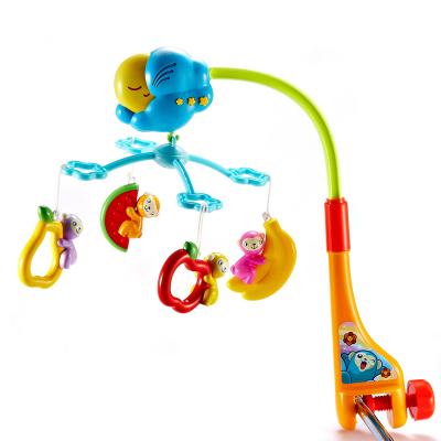 澳贝(AUBY)音乐床铃摇铃 婴幼儿童早教益智塑料玩具 好动小猴 450*65*305 0-6个月463214DS