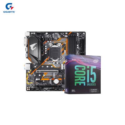 技嘉(GIGABYTE)B365 M ELITE AORUS+英特爾(Intel)i5 9600KF