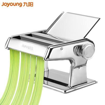 九阳(Joyoung)面条机 JYN-YM1 食品级不锈钢 6档调节 饺子皮 馄饨皮 机械式 压面机 面条机