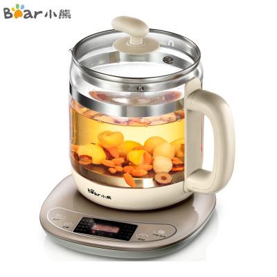小熊(Bear)養生壺 YSH-B18W2 1.5L多功能家用觸控式智能保溫加厚玻璃電熱水壺辦公室煮茶壺燒水壺蘇寧自營
