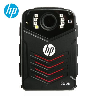 惠普(HP)DSJ-A8执法记录仪3600万高清执法记录仪1296P防爆现场记录仪 官方标配128G