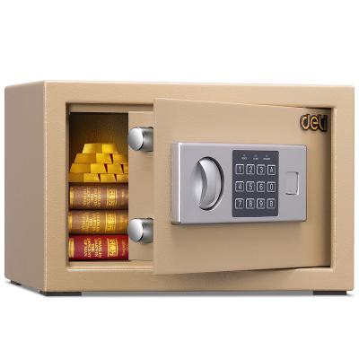 保险箱/保险柜系列 经典保管箱 家用迷你双层入墙密码