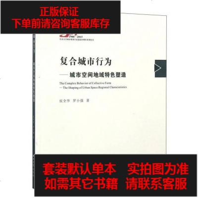 【二手8成新】复合城市行为:城市空间地域特色塑造(1980-2015)/长安大学城乡规划专业 97875604365