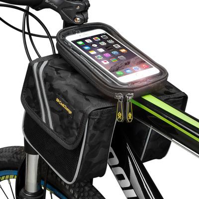 酷改自行車馬鞍包手機包山地車上管包前梁包單車配件騎行裝備
