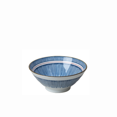 景德鎮國產日式陶瓷釉下彩大面碗微波爐適用 7.5英寸