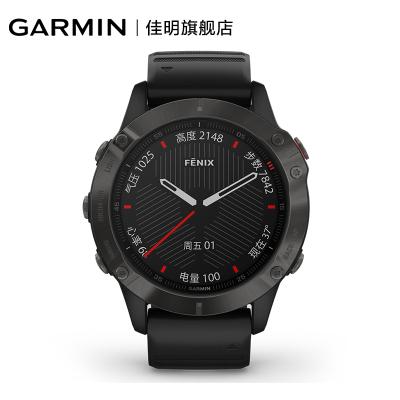 【順豐發貨】佳明 GARMIN 飛耐時Fenix6 Pro藍寶石鏡面DLC鍍膜表圈黑色戶外運動智能手表心率血氧跑步GPS