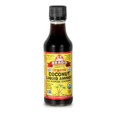 美國進口 布拉格BRAGG椰子氨基酸醬油 兒童調味品 大人小孩均可食用 1瓶296ml