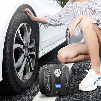 尤利特(UNIT)车载充气泵 YD-371A 汽车用点烟器直流12V 照明功能补胎胎测打气泵 机械指针款 送胎压冒和气嘴