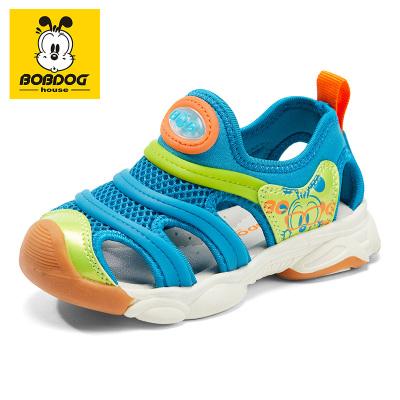 巴布豆BOBDOG HOUSE童鞋2020夏季男女童涼鞋透氣沙灘鞋舒適柔軟防滑寶寶鞋