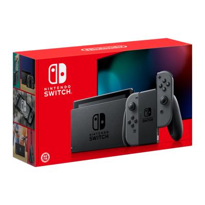 任天堂(Nintendo)Switch 掌上游戏机便携 NS 黑色手柄 续航增强版 日版