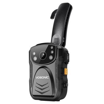 群华(VOSONIC)D5专业级执法记录仪10小时1296P高清红外夜视移动随身监控现场记录 64G