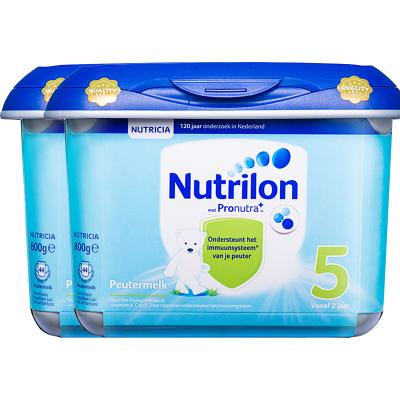 2罐裝|【乳糖配方】荷蘭牛欄 諾優能荷蘭版 Nutrilon海外 兒童配方奶粉 安心罐 5段(24月以上)800g/罐