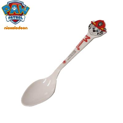 汪汪隊立大功(PAW PATROL)兒童餐具兒童卡通勺子兒童奶勺密胺餐具耐磨抗摔各色花樣卡通勺子 毛毛卡通勺