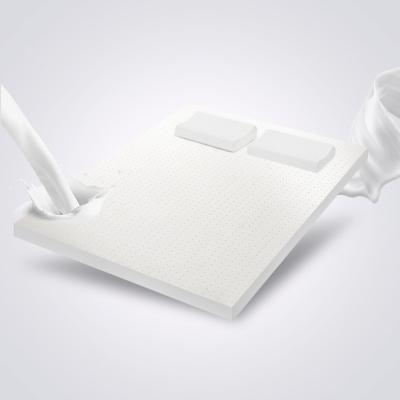 睡眠博士(AiSleep) 泰國進口天然乳膠床墊 床褥子 可折疊榻榻米床墊雙人透氣夏季去螨床墊5厘米
