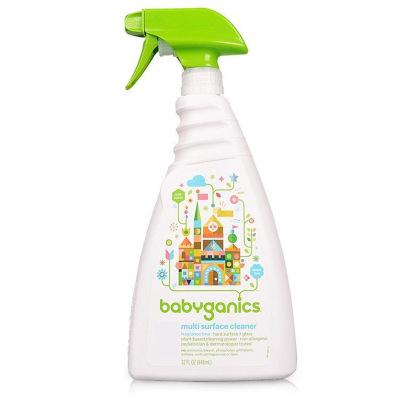 BabyGanics 甘尼克寶貝 萬用寶寶用具清潔劑 無香型 946毫升