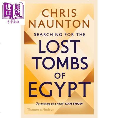 尋找埃及的古墓 英文原版 Searching for the Lost Tombs of Egypt【中商原版】商貿