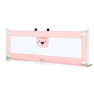 【發順豐】KDE嬰兒童大床護欄床欄桿床邊護欄床擋板寶寶床圍欄防摔防掉垂直升降2.2米粉粉豬