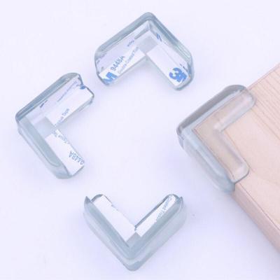 婴幼儿安全防撞角防护桌角保护套宝宝透明桌子护角包角8只两盒装桌角防撞护角