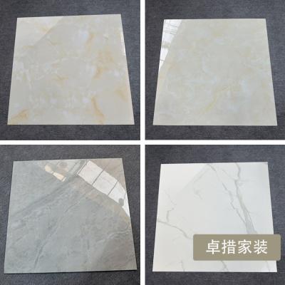 简约客厅地砖 800X800MM 金刚石大理石瓷砖防滑耐磨卧室地板砖壹德壹