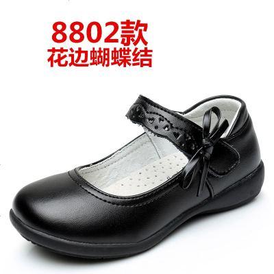 童鞋女童皮鞋公主鞋新款学生演出鞋春秋儿童小女孩子单鞋