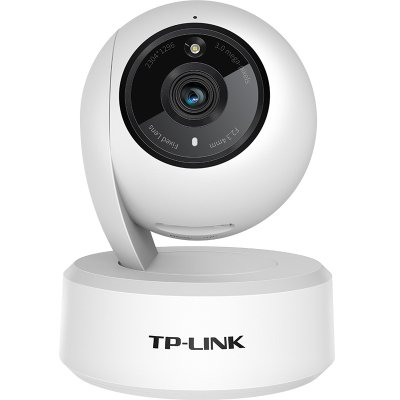 TP-LINK無線監控攝像頭 2K高清全彩300萬像素 家用智能網絡攝像機 360全景wifi手機遠程 IPC43AW