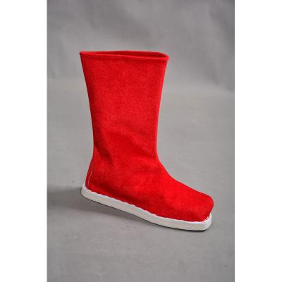 古裝漢服魔道祖師靴子男女古代鞋子大臣書生漢服鞋戲曲防滑演出靴