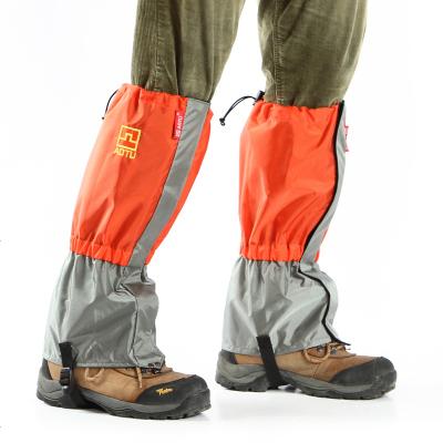 夏季戶外防水雪地徒步雪套 野外防蟲防蛇咬防沙護腿 男女腳套鞋套