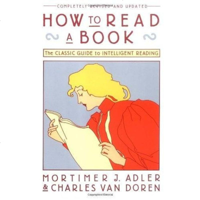 How to Read a Book Mortimer J. Adler 9780671212094