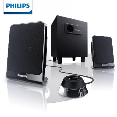 Philips/飛利浦 電腦音箱2.1多媒體低音炮木質小音響