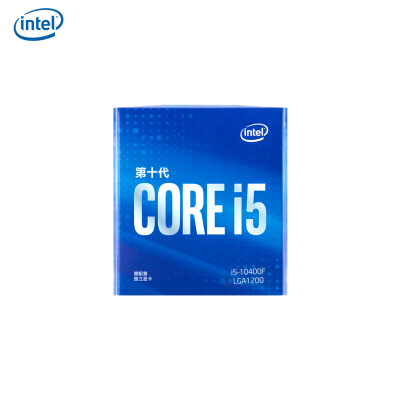 英特爾(Intel)i5-10400 酷睿六核 新款盒裝十代CPU處理器