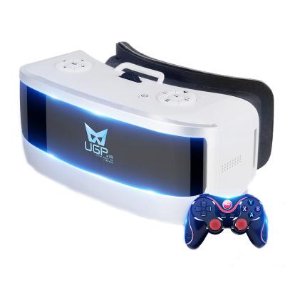 HIXANNY vr一体机虚拟现实3d眼镜VR显示器游戏机头盔蓝牙手柄IOSAndroid1920×1080无