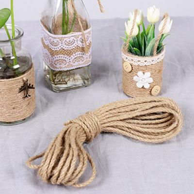 粗/麻繩細/繩子裝飾粗繩手工閃電客捆綁拔河繩多人跳繩