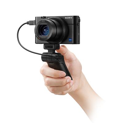 索尼(SONY) RX100M3G黑卡數碼相機 Vlog手柄套裝(2010萬像素 CMOS傳感器 3英寸翻轉屏)