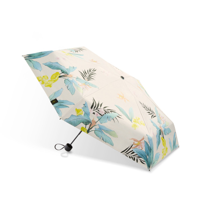 蕉下五折口袋太陽傘女晴雨兩用小巧便攜