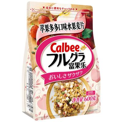 【蘋果粒多多】卡樂比(Calbee)即食麥片 蘋果多多口味700g 谷物早餐 方便速食 水果堅果麥片 代餐 日本進口