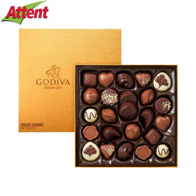 GODIVA歌帝梵 金裝夾心巧克力24顆禮盒裝圣誕節情人節日送禮送女友男友零食