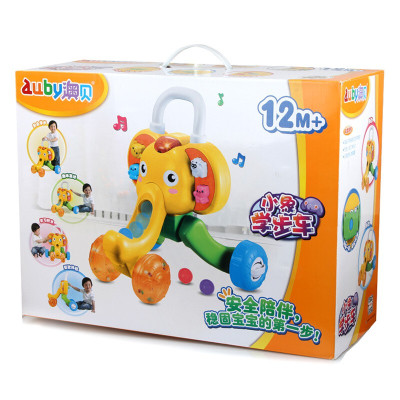AUBY 澳貝 正品 運動系列 小象學步車嬰幼兒玩具1-3歲 463322DS