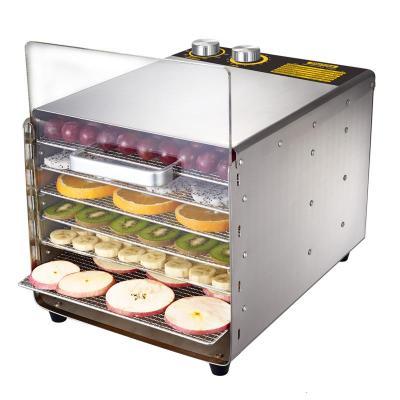 心馳食品烘干機時光舊巷家用小型水果茶葉溶豆干果機食物風干機干燥箱商用 6層旋鈕款不帶照明燈