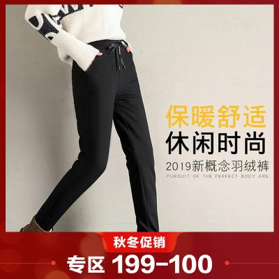 相思鳥紅豆旗下相思鳥(xiangsiniao)女士羽絨褲時尚潮流款85%白鴨絨經典百搭運動休閑風羽絨褲女國民男裝相思鳥