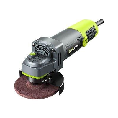 芝浦(ZHIPU)多功能工業級角磨機家用磨光手磨機打磨切割機手砂輪電動工具 【1600W】重載級 豪華套餐