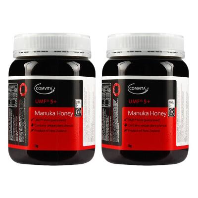 康維他 Comvita 【品牌授權】新西蘭原裝進口 曼努卡 麥盧卡 蜂蜜 UMF 5+ 1000g 2瓶