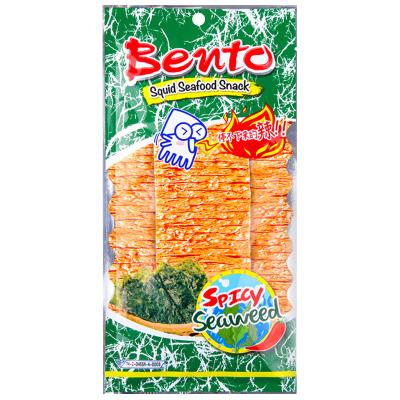 泰國進口特產 BENTO拌多樂海苔味魷魚片20G 手撕魷魚片辣條零食
